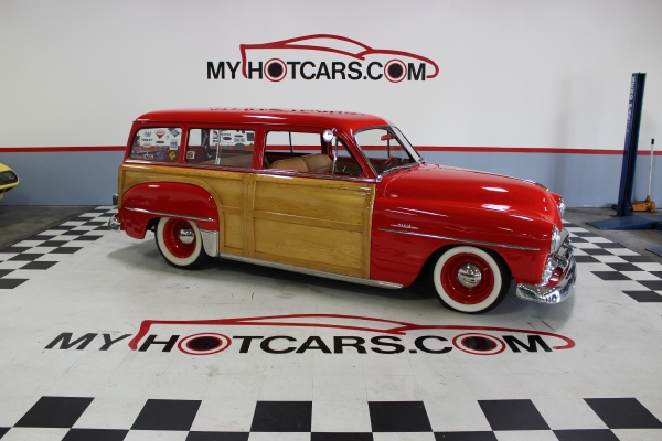 1951 Plymouth Woodie Wagon