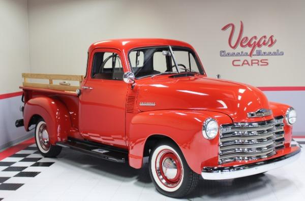 1952 Chevrolet 3100 1/2 Ton Pickup