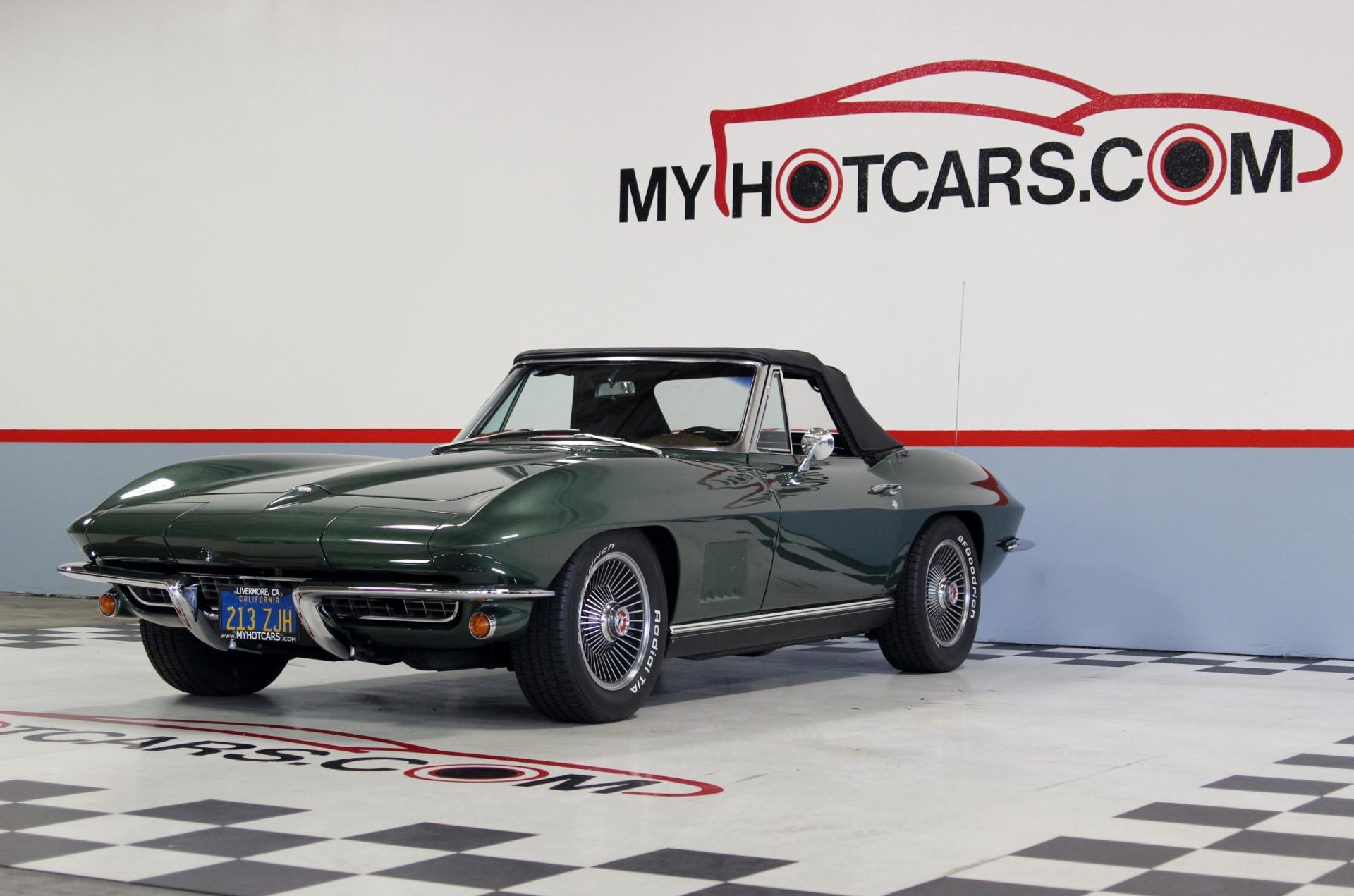 1967 chevrolet corvette stock 15033 for sale near san