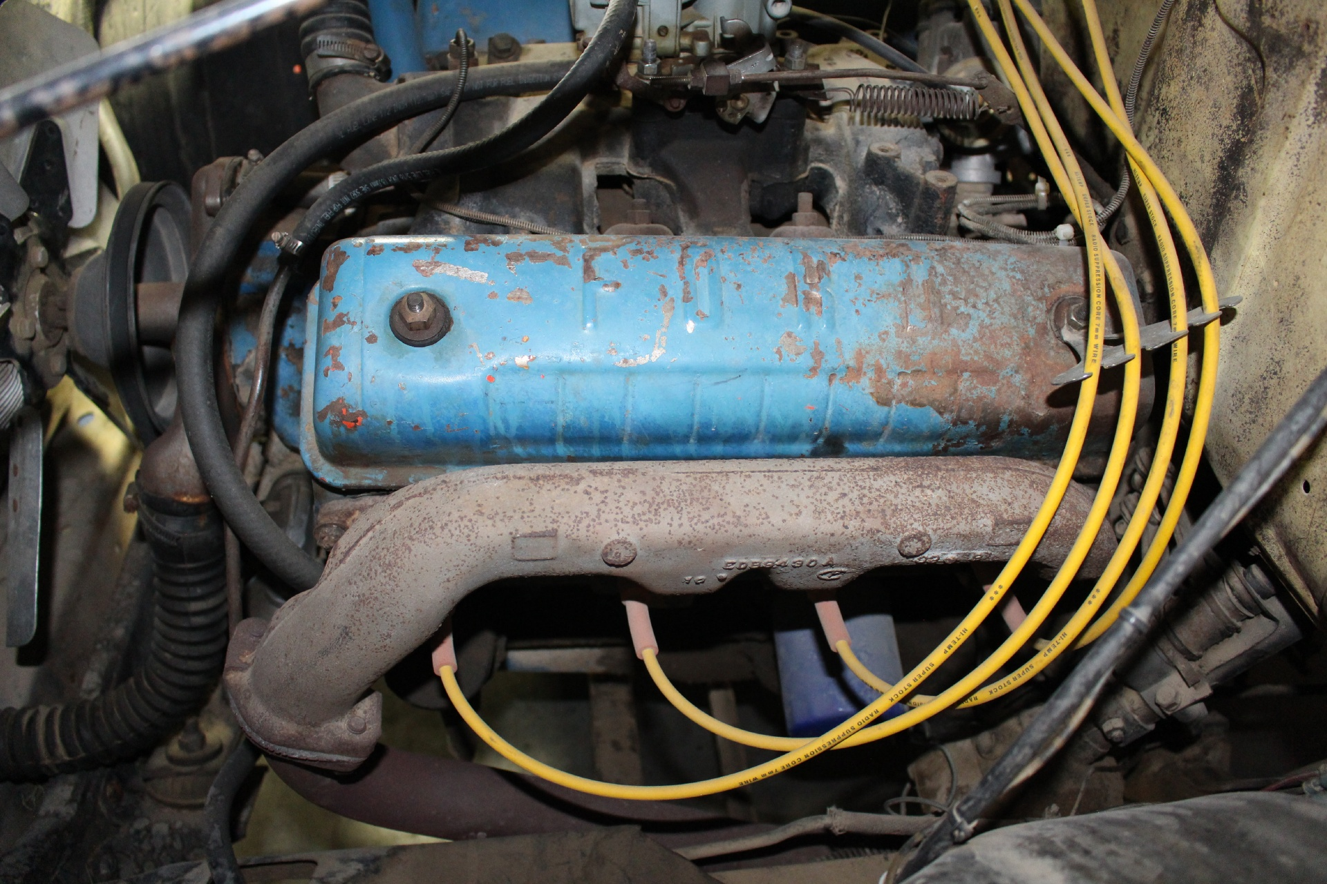 1956 Ford F100 Stock 15038vr For Sale Near San Ramon Ca 56 Wiring Used