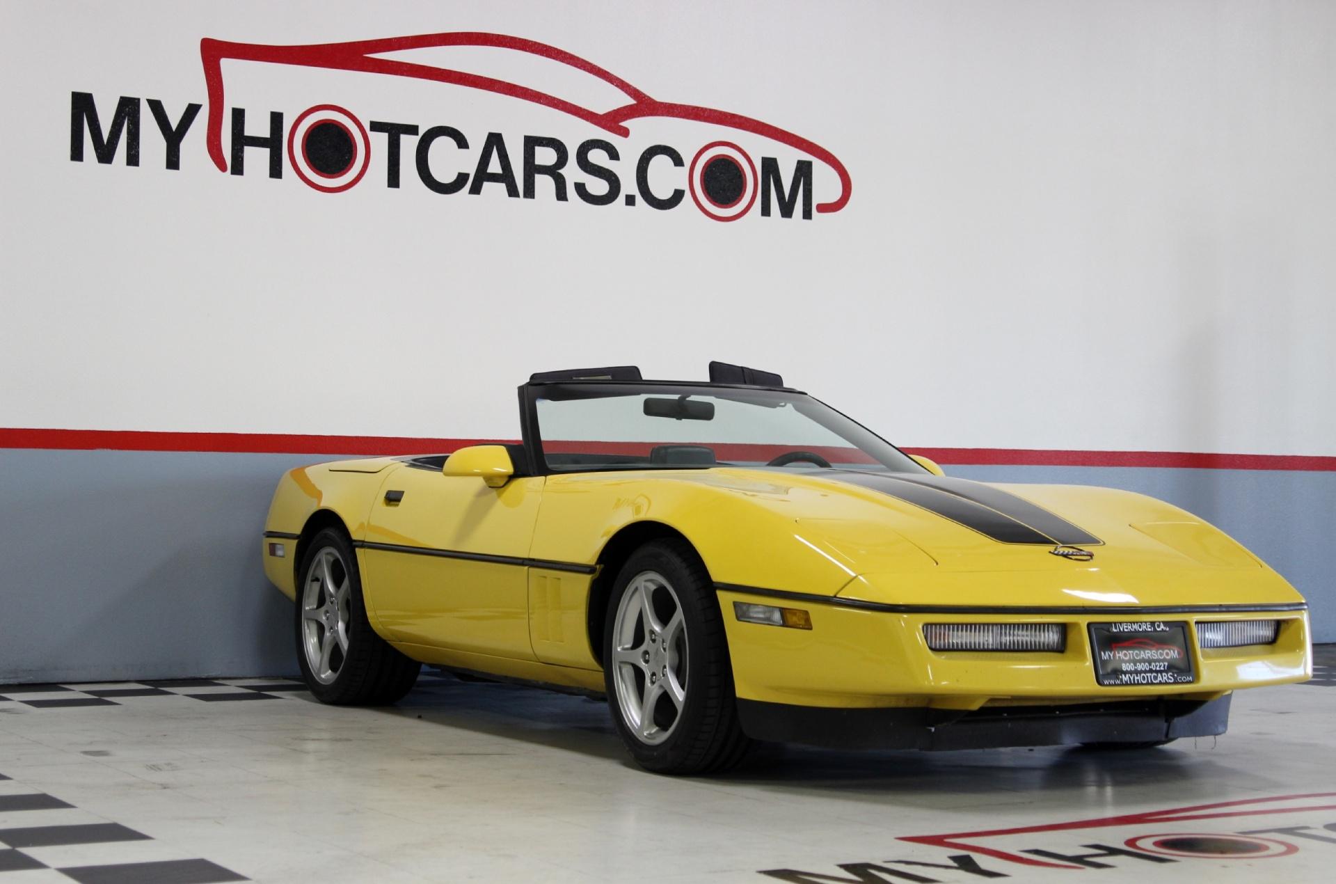 1987 Chevrolet Corvette Stock 15121 For Sale Near San Ramon Ca