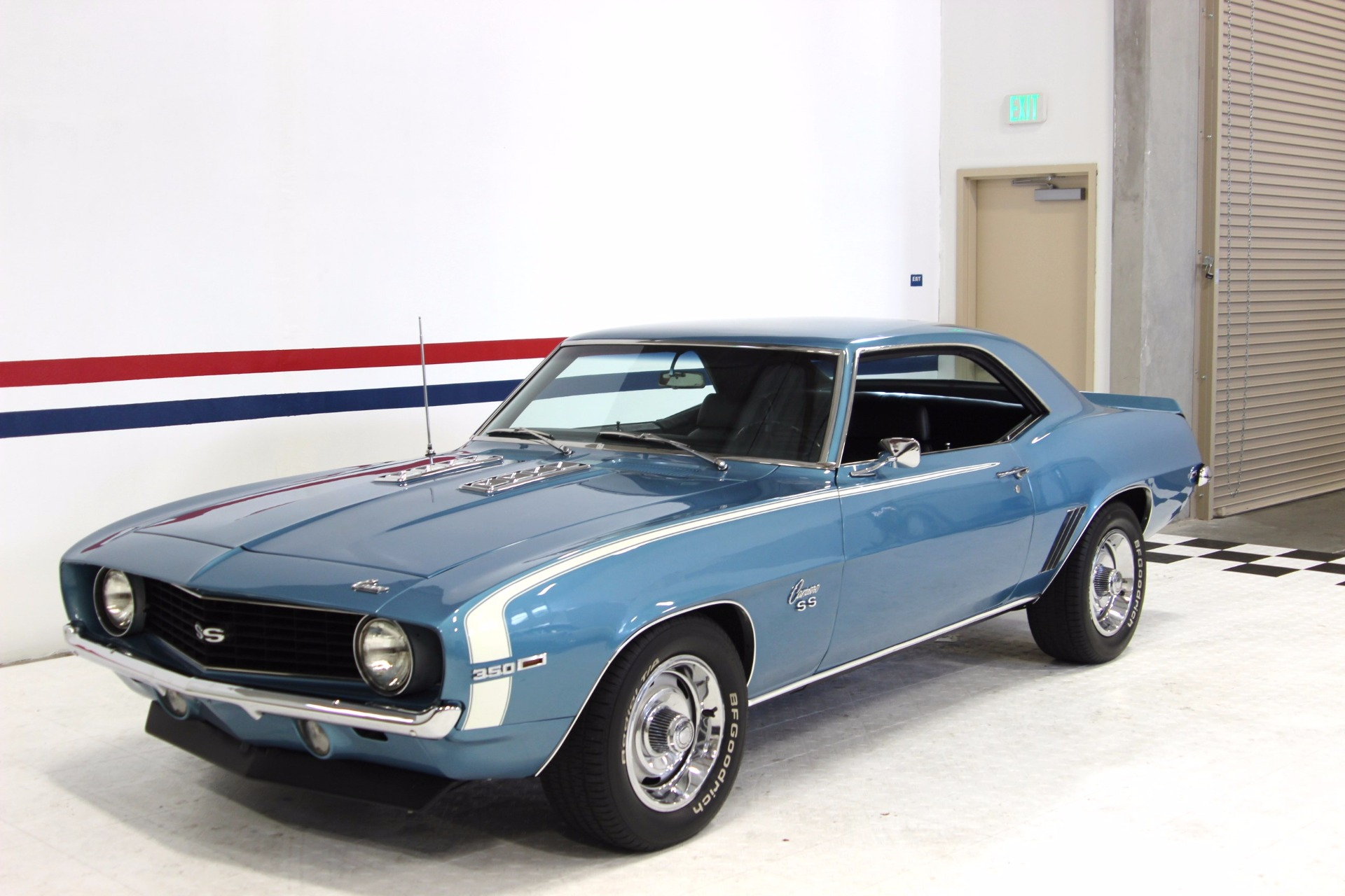West Coast Auto Sales >> 1969 Chevrolet Camaro SS Stock # 16120 for sale near San Ramon, CA | CA Chevrolet Dealer