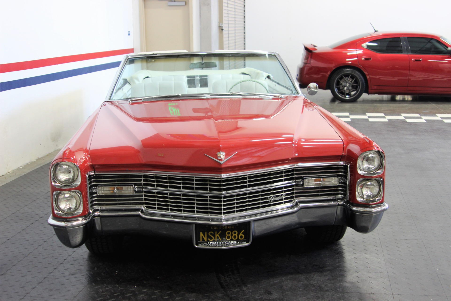 1966 Cadillac DeVille Convertible Stock # 18032 for sale ...