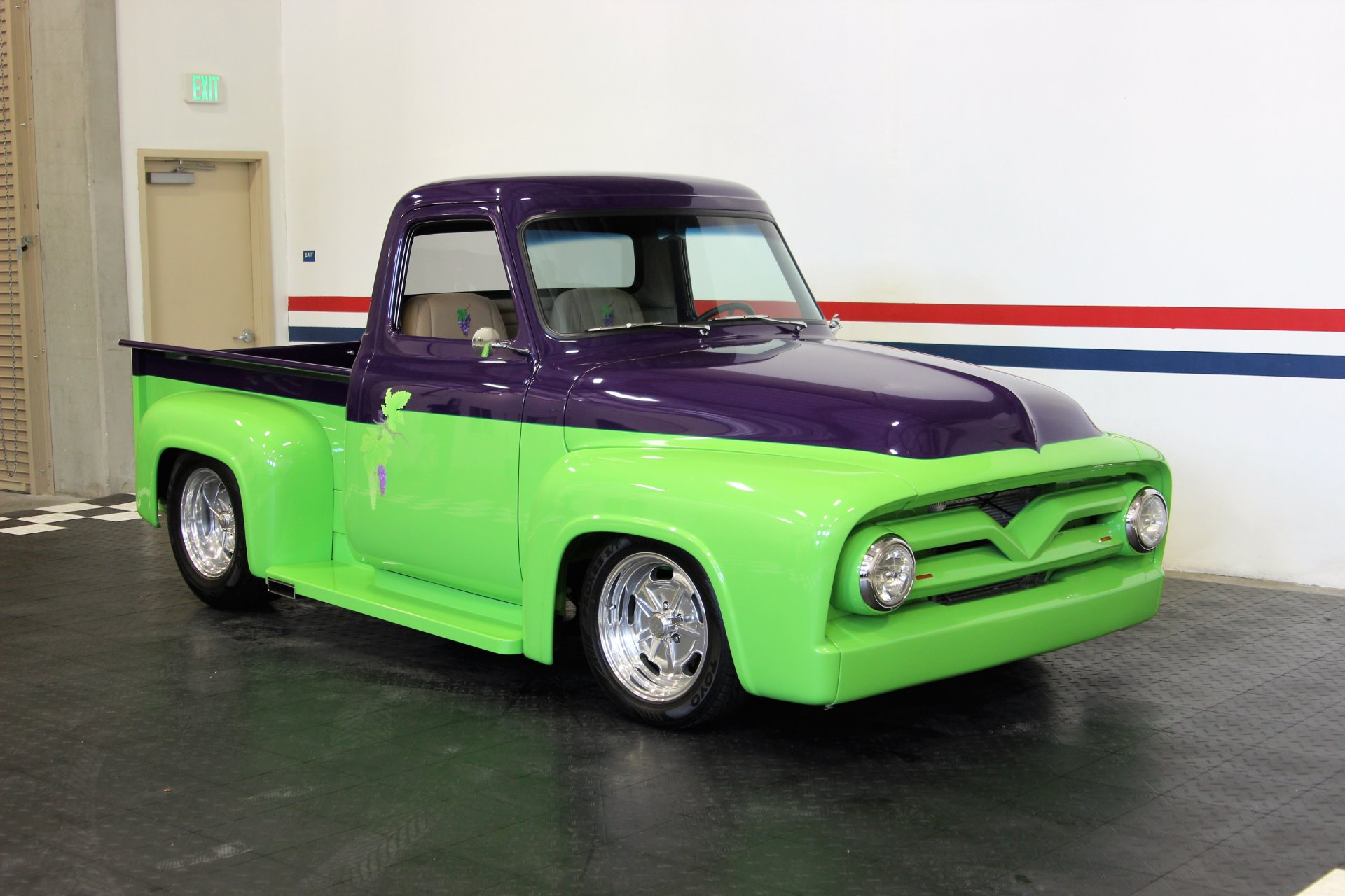 1954 Ford Pickup Stock 18068 For Sale Near San Ramon Ca 1955 F100 Truck Gas Pedal Used