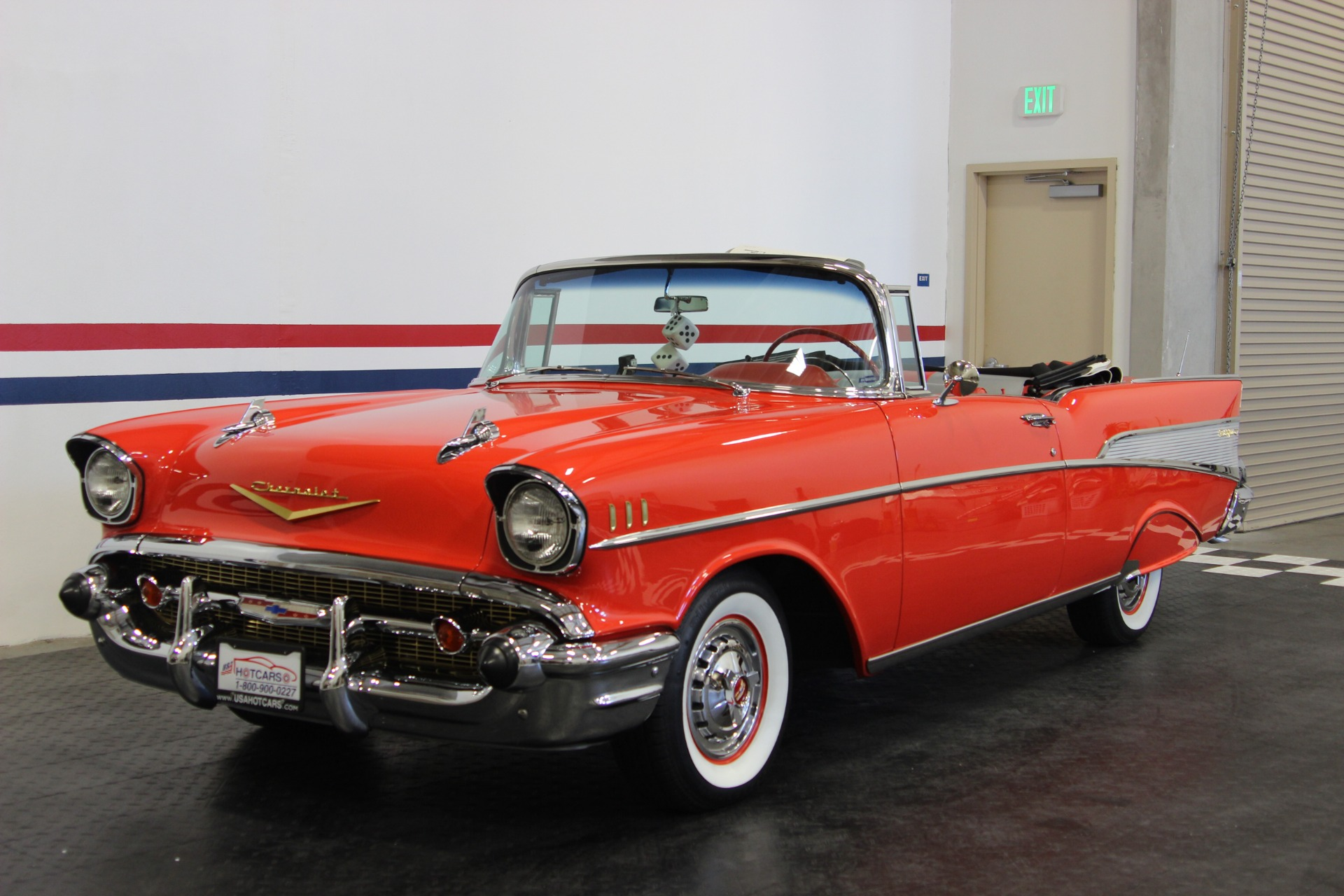 1957 Chevrolet Bel Air Stock 18072 For Sale Near San Ramon Ca Chevy Fuse Box Location Used