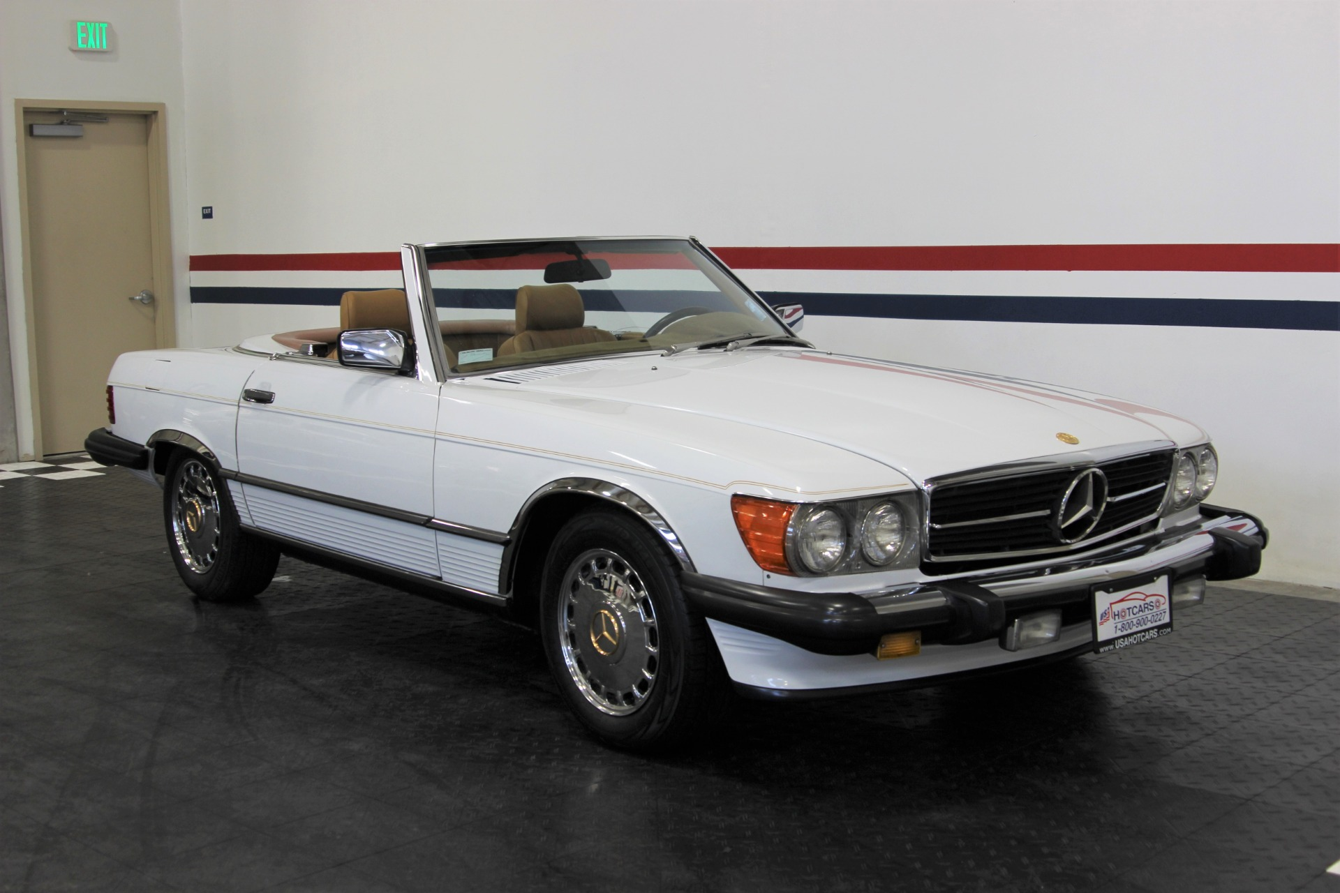 1988 mercedes benz 560sl 560 sl stock 18107 for sale. Black Bedroom Furniture Sets. Home Design Ideas