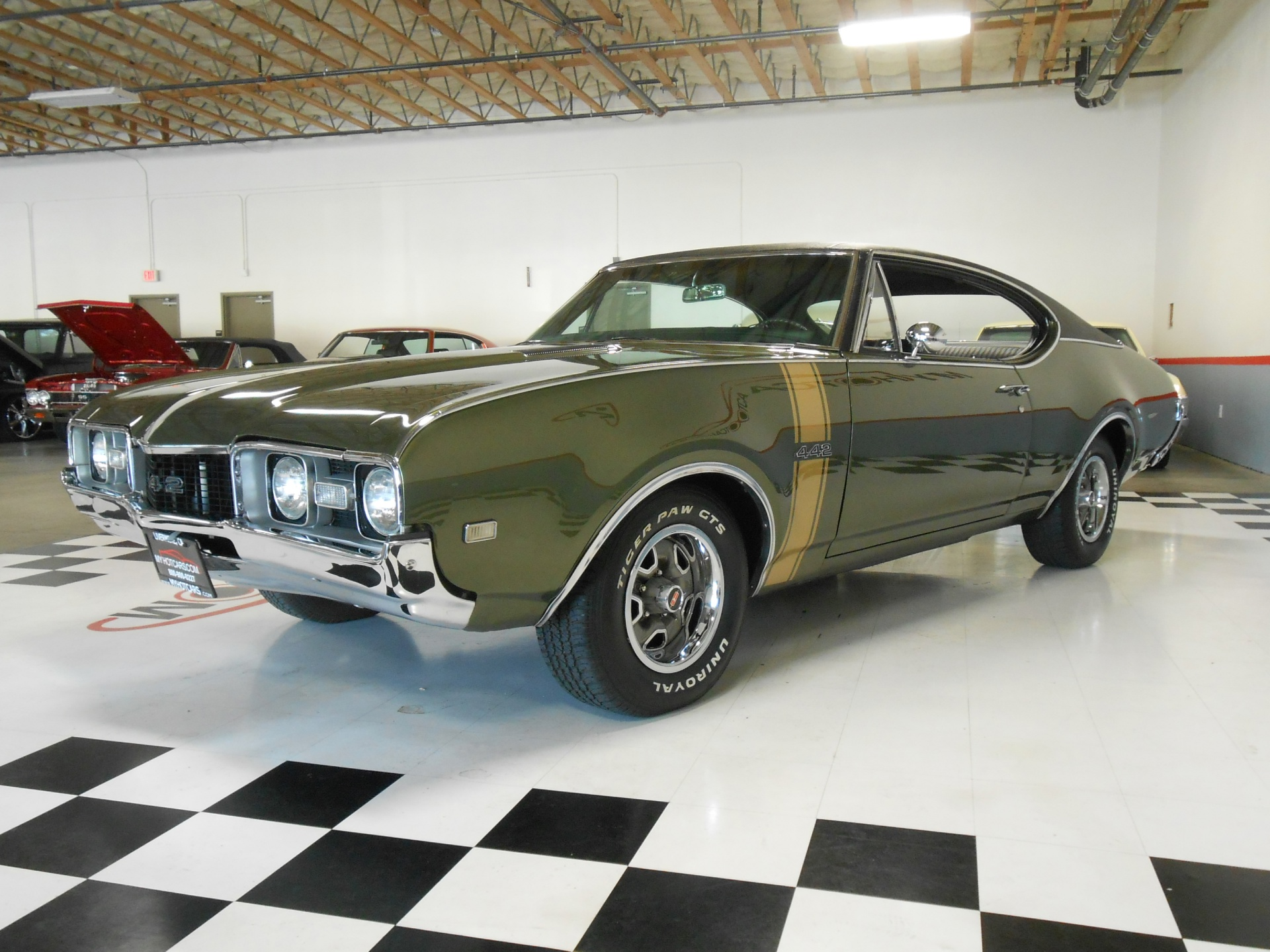 1968 Oldsmobile 442 Coupe Stock # 13177 for sale near San