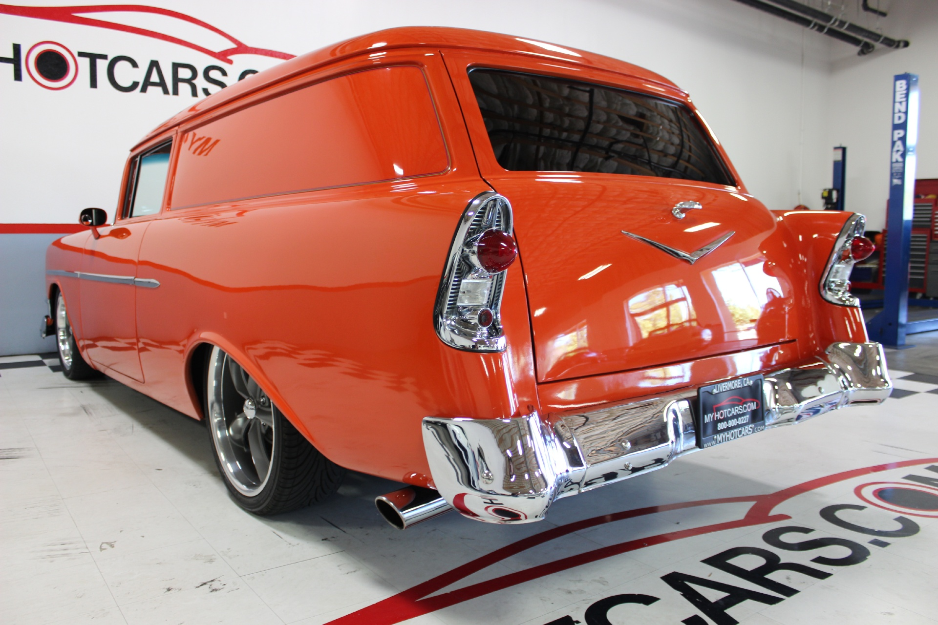 1956 Chevrolet Sedan Delivery Stock # 15144 for sale near