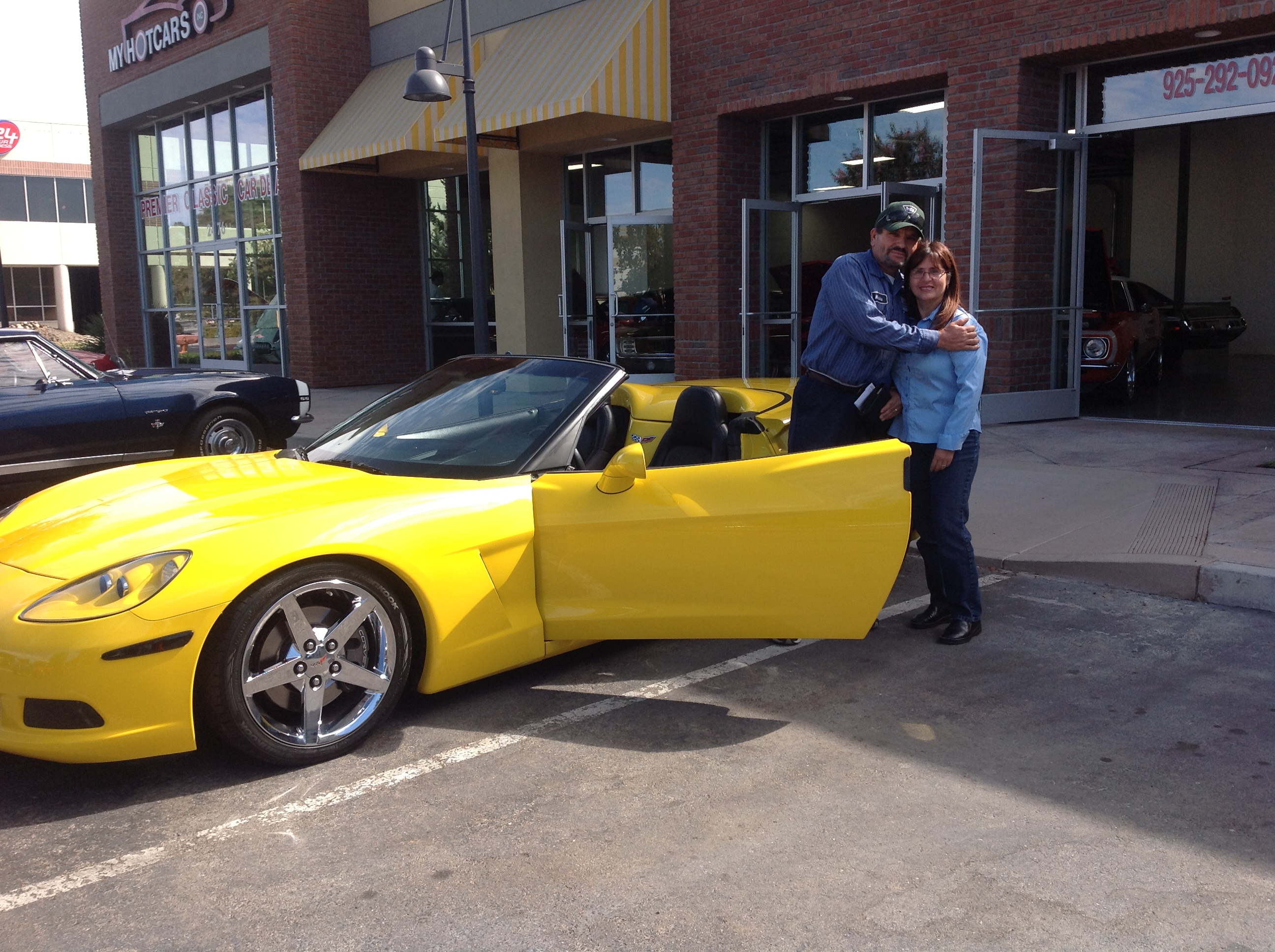 Miguel and Ana - 2008 Chevrolet Corvette Roadster